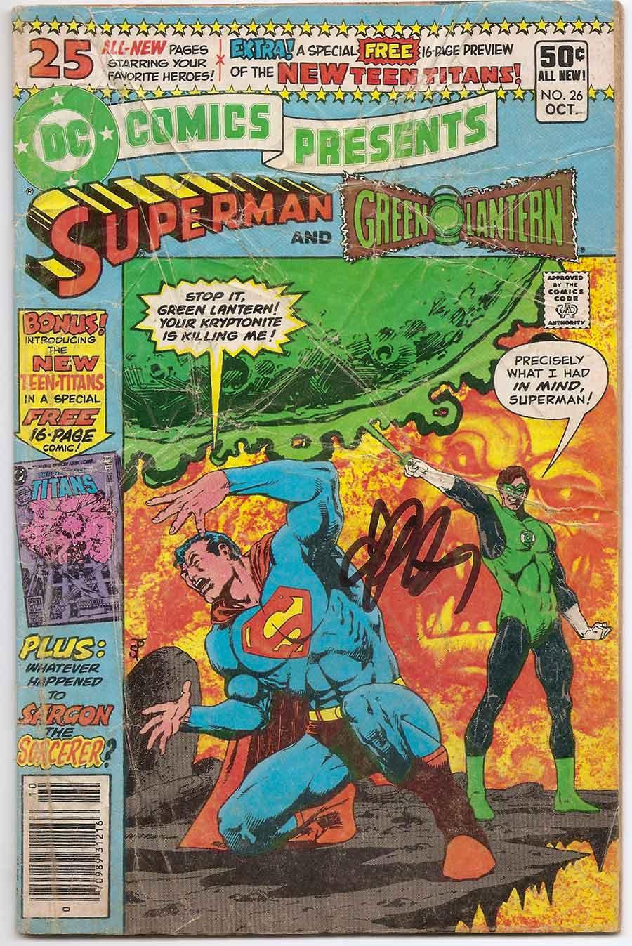 DC Comics Presents 26 1st App Cyborg Starfire Raven New Teen