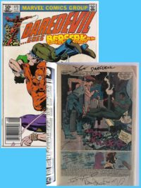 Daredevil-173-5-Signed-Charlie-Cox-Frank-Miller-Brooklyn-Comic-Shop