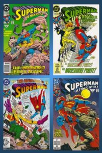 Superman-Doomsday-Comic-Set