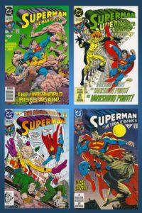 Superman-Doomsday-Comic-Set