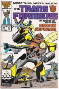 Transformers-19-SIGNED-Herb-Trimpe-Brooklyn-Comic-Shop-Joshua-Stulman