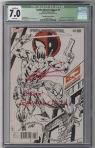 CGC-Deadpool-Spiderman-Signed-Rob-Liefeld-Brooklyn-Comic-Shop