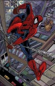 Spider-Man-In-Midtown-Joshua-Stulman-Brooklyn-Comic-Shop