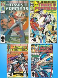 Transformer-Comic-Set