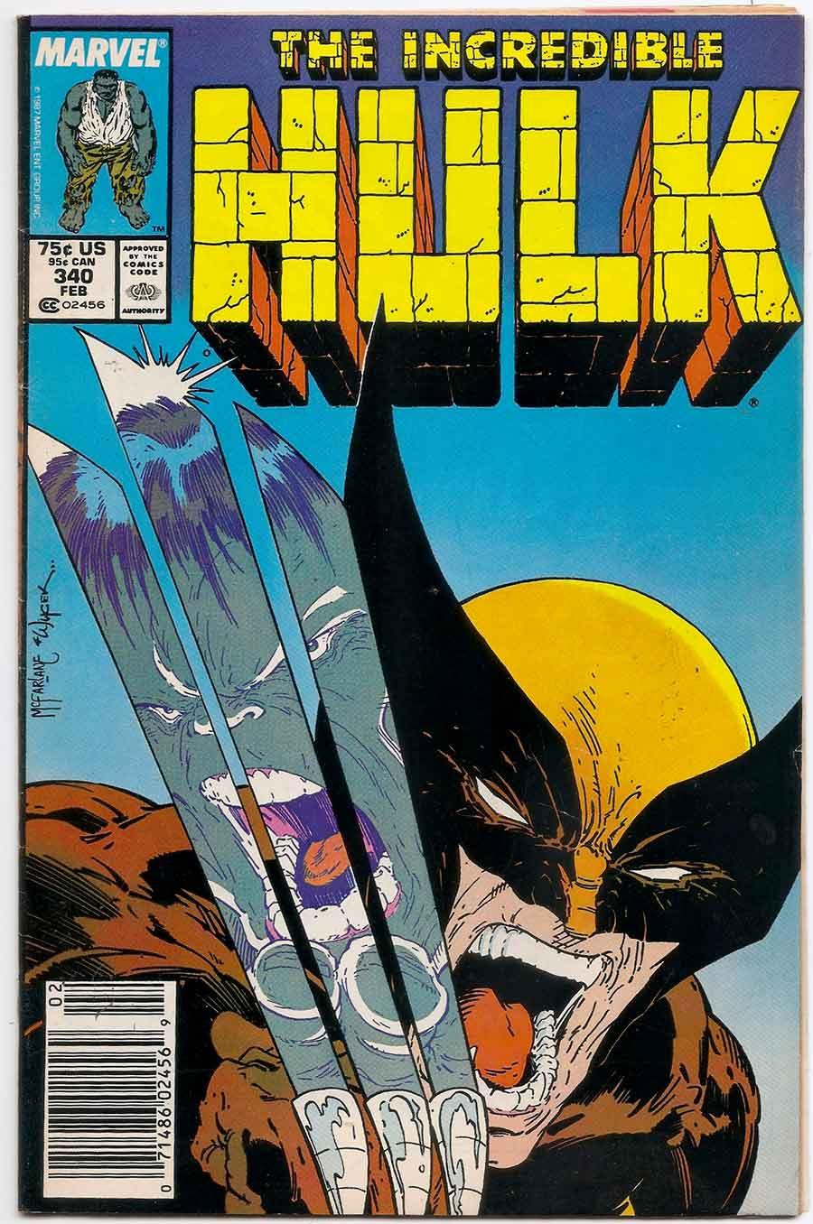 Risultati immagini per hulk vs wolverine comics