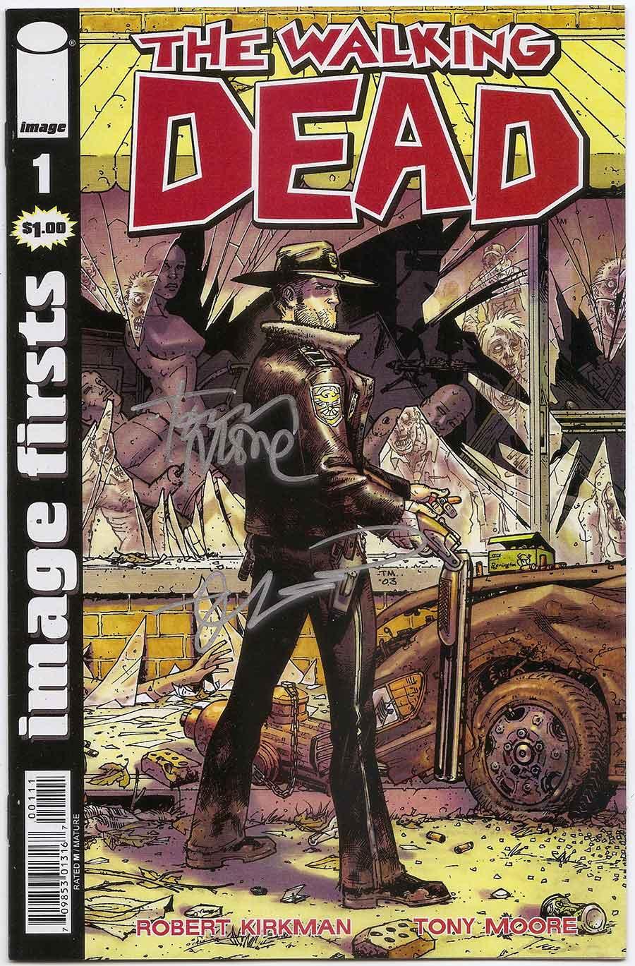 Walking Dead Comic Book