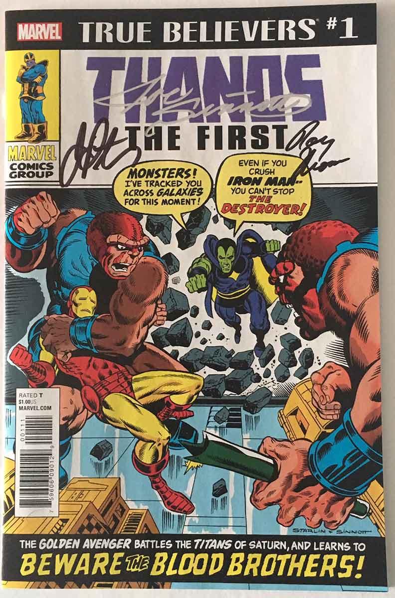 STORM PRINT HAND SIGNED Neal Adams DC X-Men w COA