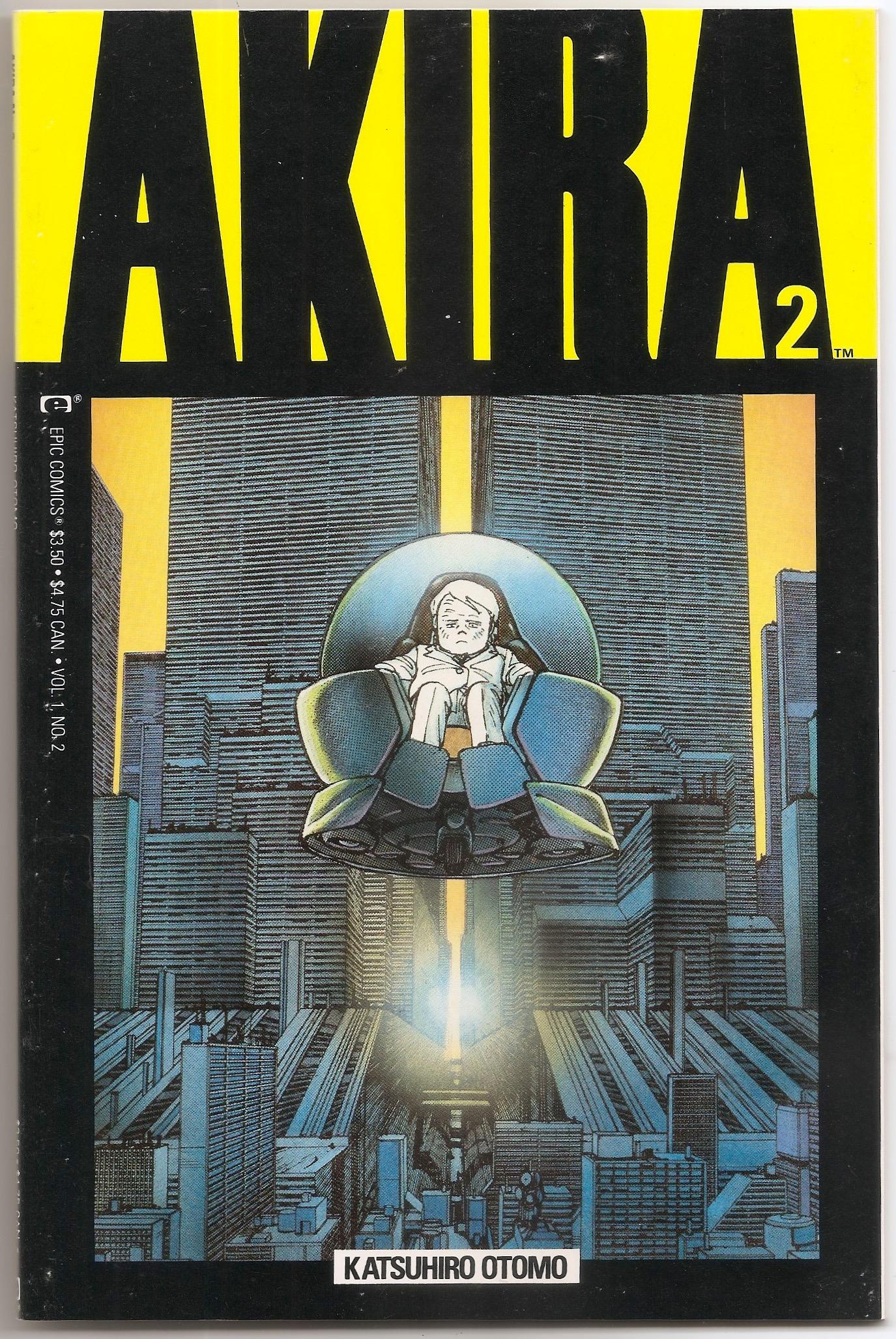 Akira 02 First Print Brooklyn Comic Shop