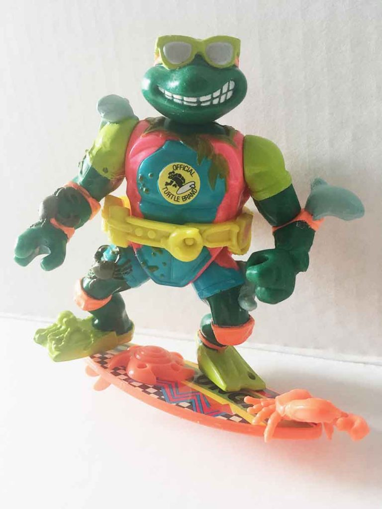 complet Teenage Mutant Ninja Turtles Mike the sewer surfer